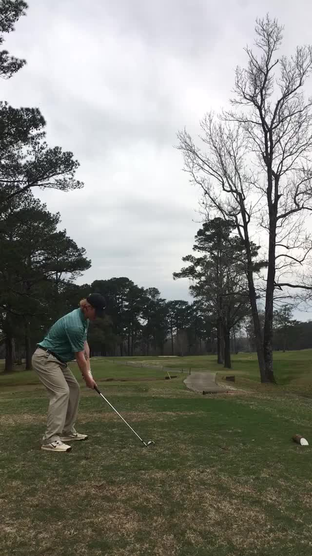 Watch and share Golf Swing - Back View GIFs on Gfycat