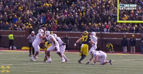 Watch and share Brian Lewerke GIFs by MGoBlog on Gfycat