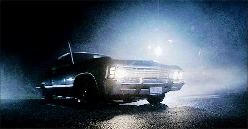 Watch and share 1k Best Supernatural Car Spn Impala Spngif Dean's Baby Chevrolet Impala Chevrolet Impala 67 Impala 67 GIFs on Gfycat