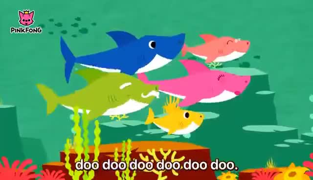 Watch and share Baby Shark | Animal Songs | PINKFONG Songs For Children GIFs on Gfycat