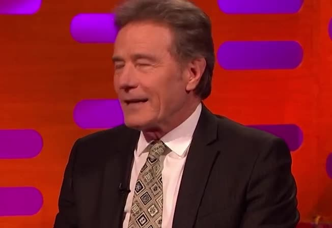 bitch, bryan, bryan cranston, celebrities, celebrity, celebs, cranston, epic, even, eye, god, graham, no, norton, not, oh, please, roll, seriously, show, Bryan Cranston | The Graham Norton Show GIFs