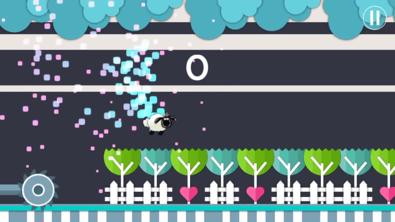 gaming, heart, sheep, Sheep grabs heart- Android game GIFs