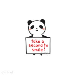 Watch and share Cute Panda Inspirational Animation Smile Motivational GIFs on Gfycat