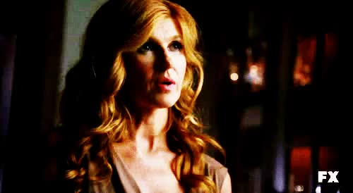 Watch Murder house GIF on Gfycat. Discover more Lily Rabe, Vivien Harmon, american horror story, ben harmon, chad, connie britton, constance, dylan mcdermott, evan peters, gif, jessica lange, moira, murder house, nora montgomery, taissa farmiga, tate langdon, the murder house, twins, violet harmon, zachary quinto GIFs on Gfycat