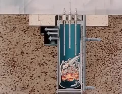 """Watch and share Nuclear Reactor Meltdown: """"SL-1 Accident Briefing Film Report"""" 1961 AEC Atomic Energy Commission GIFs on Gfycat"""