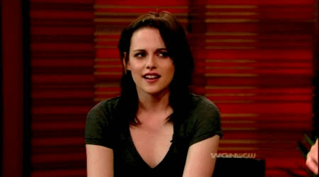 kristen stewart, Believe it or not, not every vegetarian is on a vegetarian diet to lose weight. GIFs