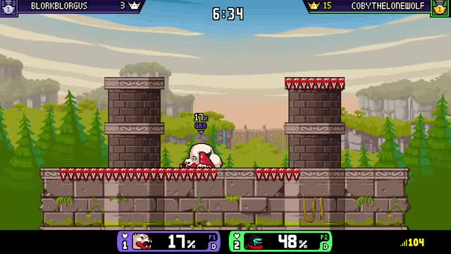 xbox one xbox dvr xbox RivalsofAether CobyTheLoneWolf GIF