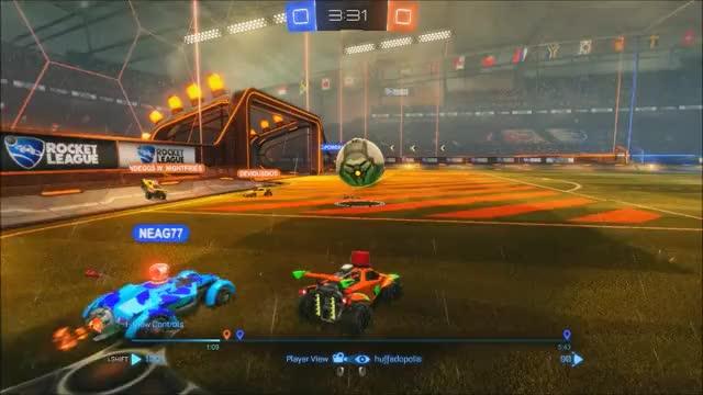 Rocket League Goal Stealing