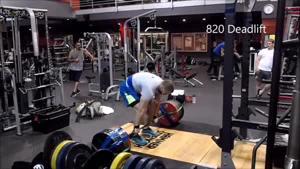 Watch Pete Rubish pulls 820lbs (372kg) (reddit) GIF on Gfycat. Discover more powerlifting GIFs on Gfycat