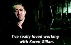Watch and share Karen Gillan GIFs and Leepaceedit GIFs on Gfycat