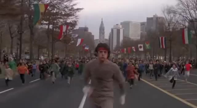 Watch and share Sylvester Stallone GIFs and Running GIFs on Gfycat