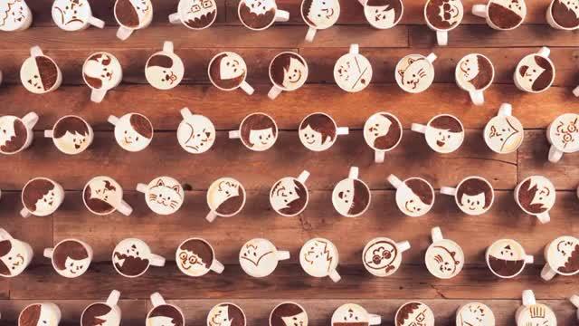 latte art desigboom