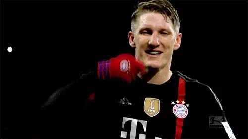 Watch Mesut Ozil GIF on Gfycat. Discover more Bastian Schweinsteiger, bayern munich, fc bayer münchen, fc bayern munich, ily, my gifs GIFs on Gfycat