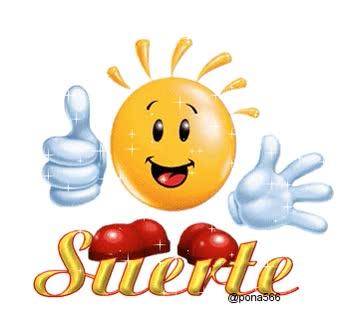 Watch and share Suerte animated stickers on Gfycat