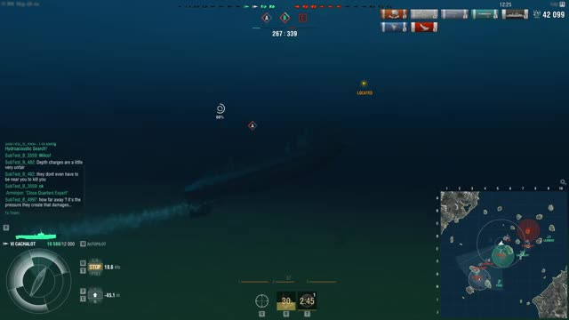 Watch and share World Of Warships 2019-10-04 18-12-59 GIFs on Gfycat