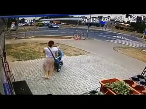 Watch and share Women Almost Lost Her Child In An Accident (reddit) GIFs on Gfycat