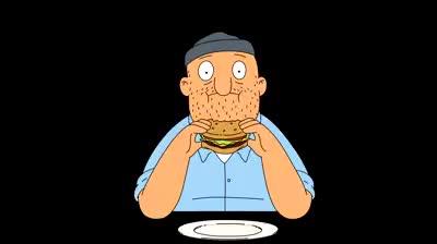 Watch Teddy eating Bob's Burgers GIF on Gfycat. Discover more bob's burgers, teddy GIFs on Gfycat