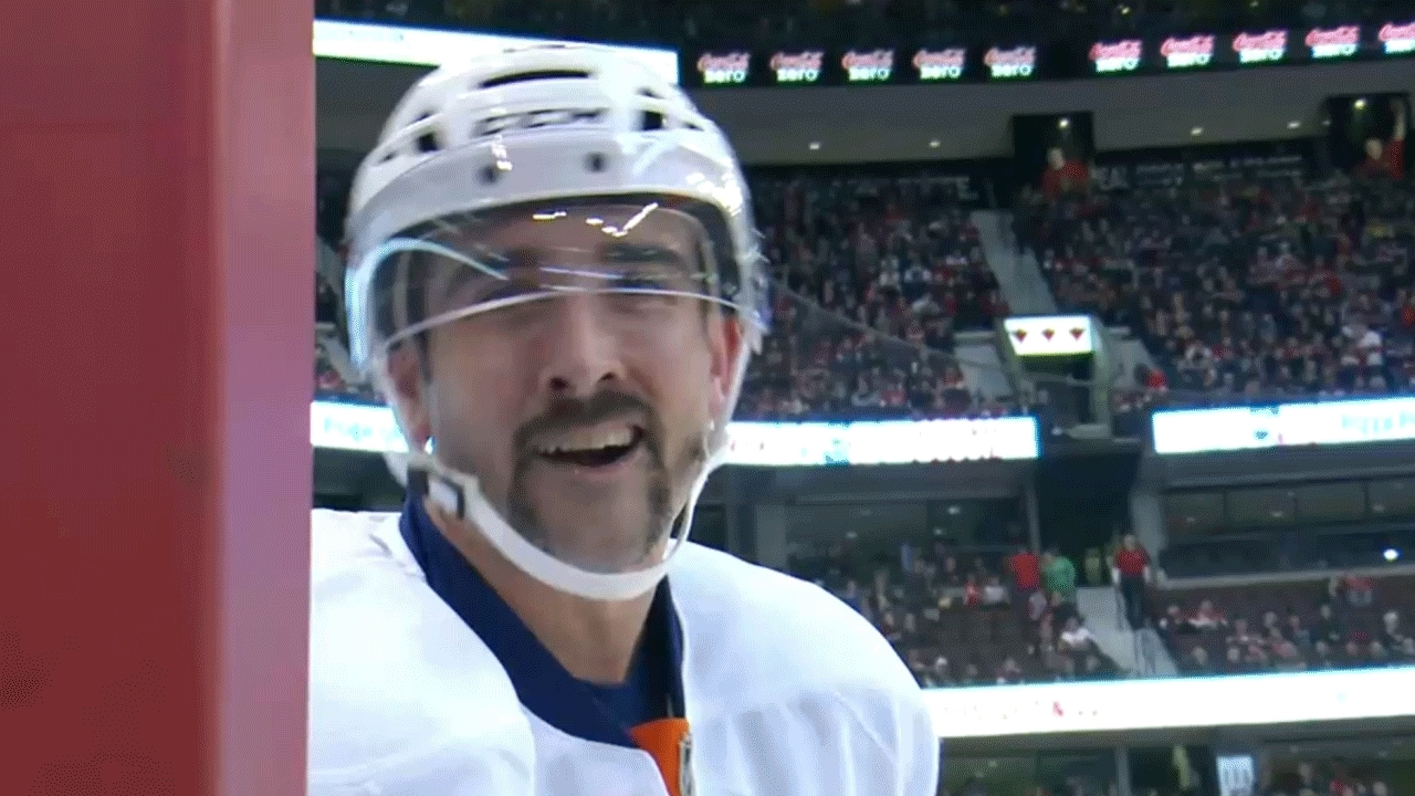 hockey, newyorkislanders, I made this gif in hopes that Cal will get well soon. (reddit) GIFs