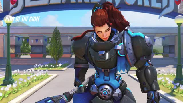 Watch and share Overwatch GIFs and Brigitte GIFs by snuggie on Gfycat