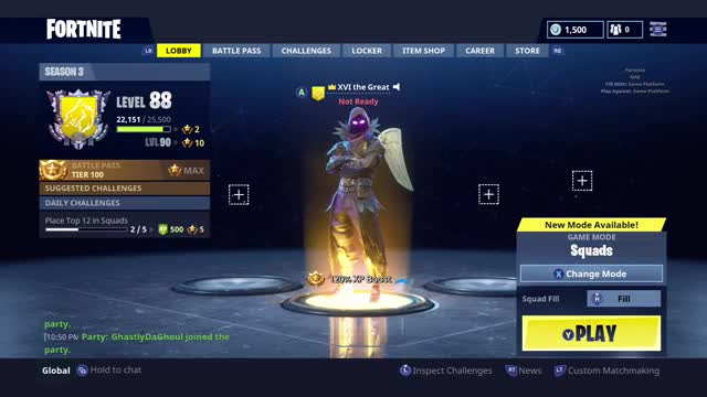 Watch this GIF by Gamer DVR (@xboxdvr) on Gfycat. Discover more FortniteBattleRoyale, XVI the Great, xbox, xbox dvr, xbox one GIFs on Gfycat