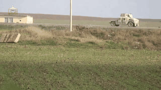 IED throws Iraqi military humvee into the air • r/CombatFootage GIFs