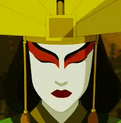 Watch and share Michiko Nishiwaki GIFs and Avatar Kyoshi GIFs on Gfycat