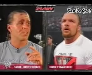 Watch HBK & HHH promo before summerslam 2002 GIF on Gfycat. Discover more michaels, shawn, triple GIFs on Gfycat