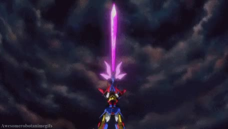Watch and share Mechs With Swords GIFs and Gundam Tryon 3 GIFs on Gfycat