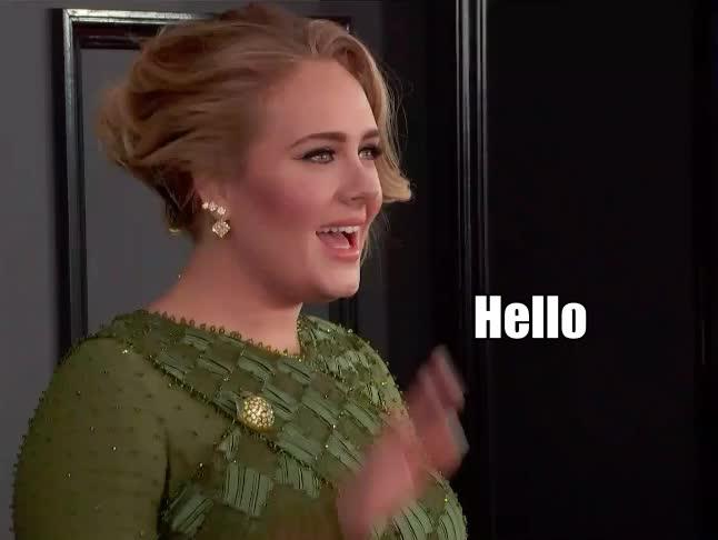 Adele, Grammys, adele, grammys, hello, music, Adele Hello GIFs