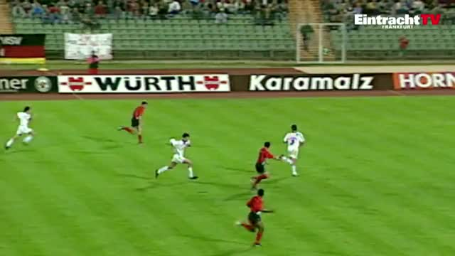 Watch and share OKOCHA - Frankfurt Vs Karlsruhe, 1993 GIFs on Gfycat