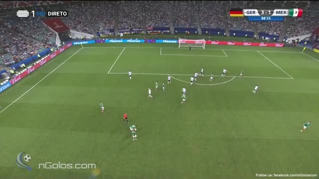 Watch and share (www.nGolos.com) Germany 3-1 Mexico -Marco Fabian 89' GIFs on Gfycat