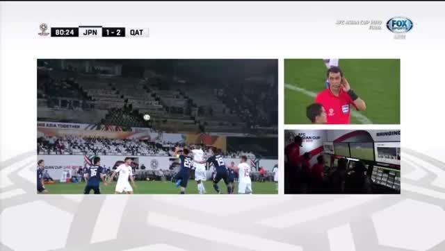 Watch and share Nhat-Ban-vs-Qatar-VAR-3-1 GIFs by Phong Mieu Nguyen on Gfycat