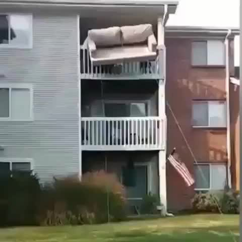 Watch How else are you supposed to get a couch off the second floor (reddit) GIF on Gfycat. Discover more related GIFs on Gfycat