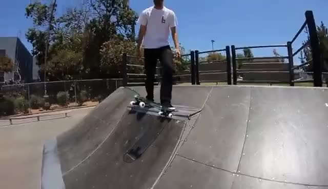 Watch and share Glass Skateboard GIFs on Gfycat