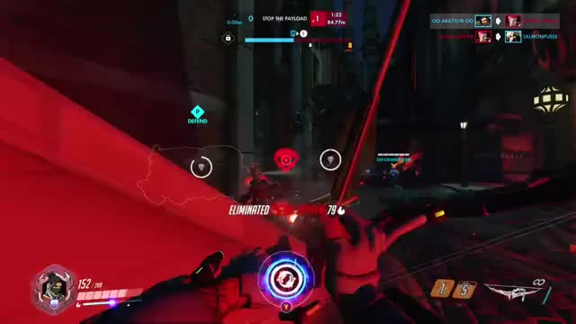 Watch this GIF by xboxdvr on Gfycat. Discover more Oo ABATTOIR oO, OverwatchOriginsEdition, xbox, xbox dvr, xbox one GIFs on Gfycat
