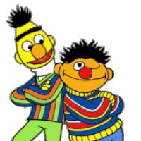 Watch and share Bert And Ernie Super animated stickers on Gfycat