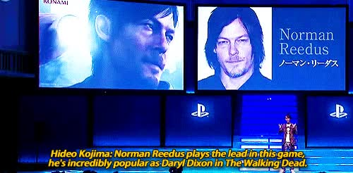 Watch silent GIF on Gfycat. Discover more norman reedus GIFs on Gfycat