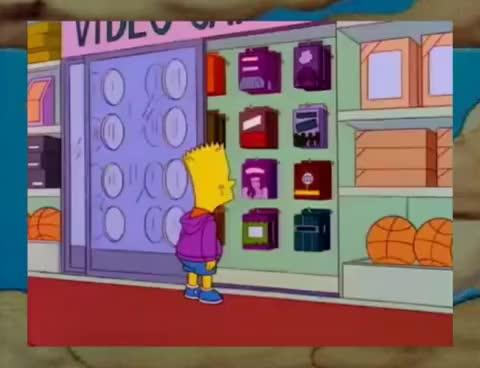 "Watch and share Bart Roba ""Apocalipsis"" - Los Simpson (Escena Completa Latino) GIFs on Gfycat"