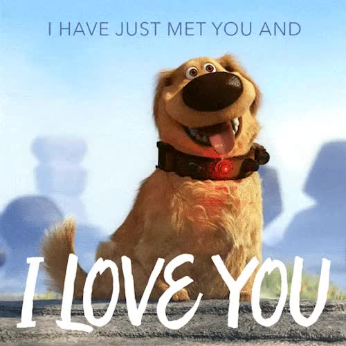 Watch and share Disney Pixar GIFs and Cute Dog GIFs on Gfycat