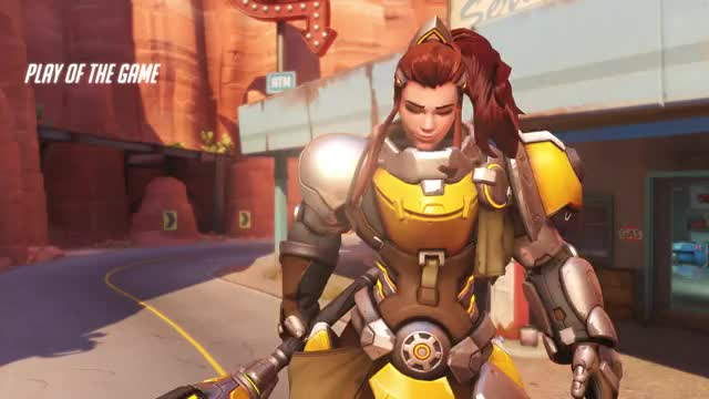 Watch and share Overwatch GIFs and Brigitte GIFs by dakrith on Gfycat
