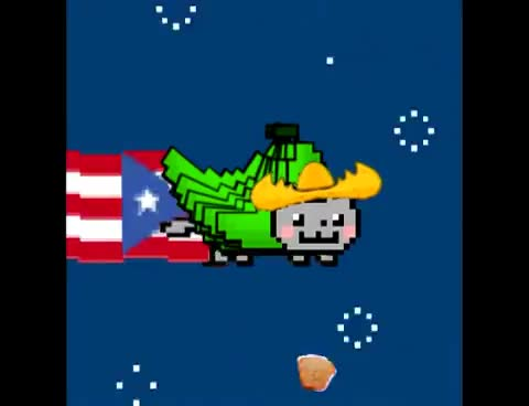 Nyan Cat, Puerto Rican, nyan cat, puerto rican, Puerto Rican Nyan Cat GIFs