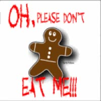 Watch and share Gingerbread Man GIFs on Gfycat