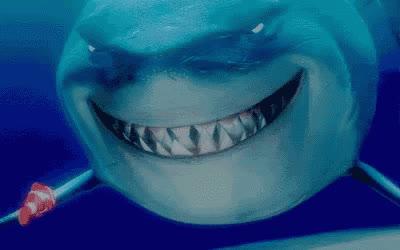 bruce, finding nemo, grin, shark, shark week, smile, Bruce - Finding Nemo GIFs