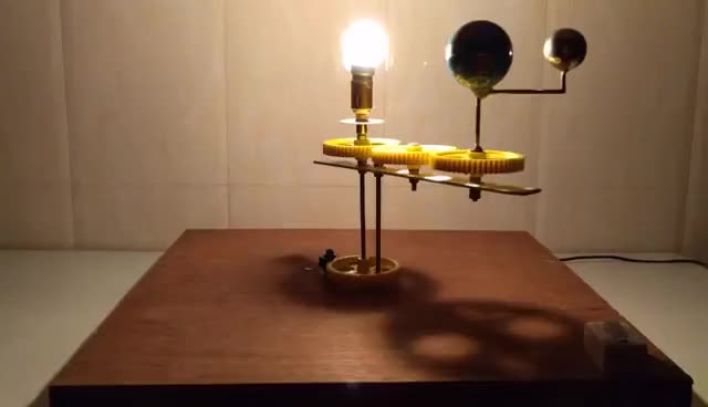 Solar And Lunar Eclipse Model For School Project Gif Find Make