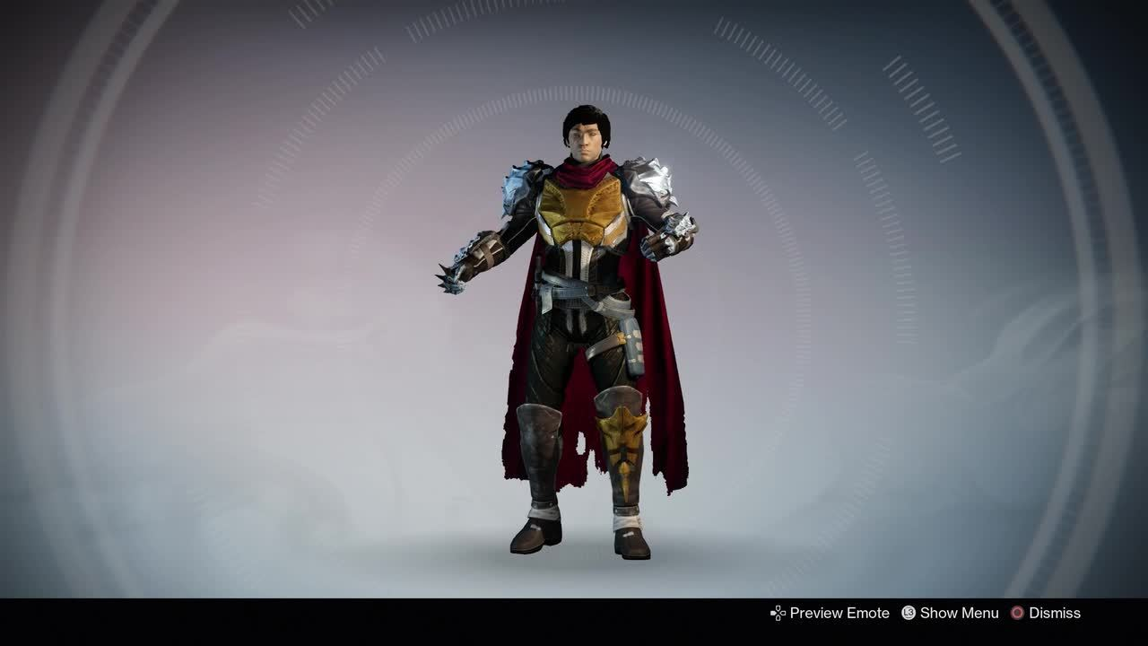 Destiny emote: Victory Cheer GIFs