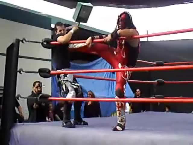 Watch Chimaera vs Johnny GIF by Blaze Inferno (@metaknightxprophets) on Gfycat. Discover more Chimaera, IWL, Johnny Saovi, Ricardo Rodriguez, Wrestling GIFs on Gfycat