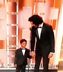 Watch and share Dev Patel & Sunny Pawar GIFs on Gfycat