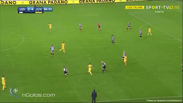 Watch and share (www.nGolos.com) Udinese 2-[5] Juventus - Khedira 87' (Hat-trick) GIFs by minieri on Gfycat