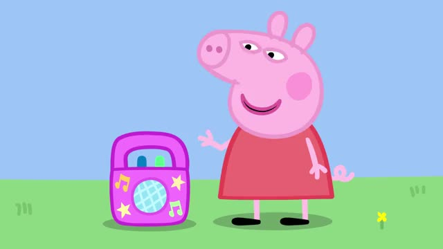 Watch and share Peppa Pig Official GIFs and Peppa Pig Song GIFs by Adrian Gzmn on Gfycat