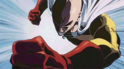 Watch Fuck you, power star! | One-Punch Man GIF on Gfycat. Discover more related GIFs on Gfycat